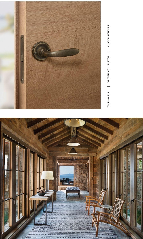 COURMAYEUR LE FABRIC maniglie collezione BRONZO maniglie personalizzate custom doorhandle.