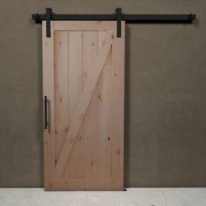 Bbinario per porte scorrevoli - barn door