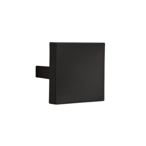Square cabinet knob Le Fabric 60x60 mm center distance 32 mm Matt Black