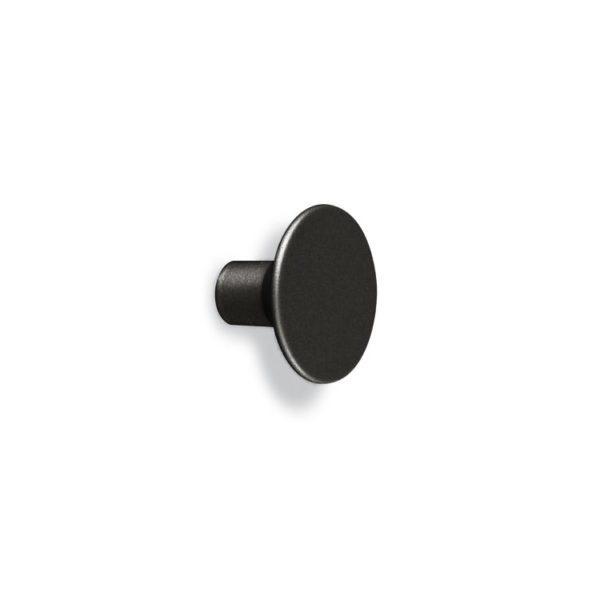 Round furniture knob Le Fabric 33x22x12 mm Matt Black