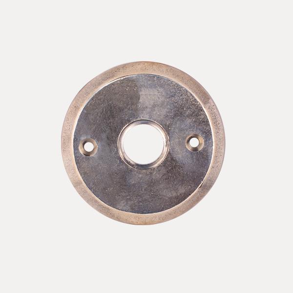 Rosetta rotonda serie bronzo per maniglia Le Fabric