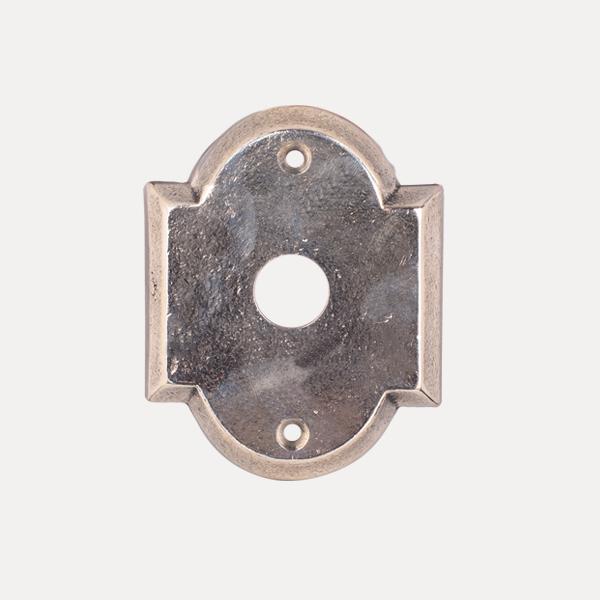 Rosetta classica serie bronzo per maniglia su misura serie Materia del marchio Le Fabric Design, per realizzare la maniglia su misura.